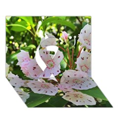 Amazing Garden Flowers 35 Ribbon 3d Greeting Card (7x5)