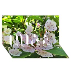 Amazing Garden Flowers 35 Hugs 3d Greeting Card (8x4)