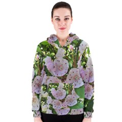 Amazing Garden Flowers 35 Women s Zipper Hoodies