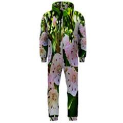 Amazing Garden Flowers 35 Hooded Jumpsuit (Men)
