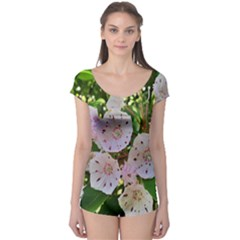 Amazing Garden Flowers 35 Short Sleeve Leotard