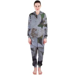 Amazing Garden Flowers 32 Hooded Jumpsuit (ladies)