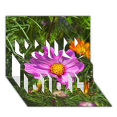Amazing Garden Flowers 24 You Did It 3D Greeting Card (7x5)
