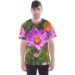 Amazing Garden Flowers 24 Men s Sport Mesh Tees