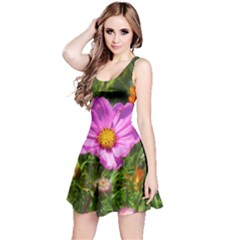 Amazing Garden Flowers 24 Reversible Sleeveless Dresses