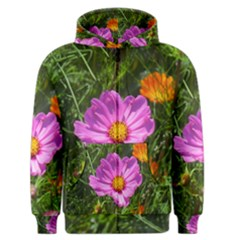 Amazing Garden Flowers 24 Men s Zipper Hoodies