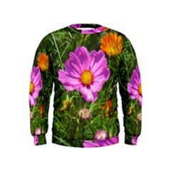 Amazing Garden Flowers 24 Boys  Sweatshirts