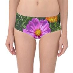 Amazing Garden Flowers 24 Mid-Waist Bikini Bottoms