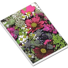 Amazing Garden Flowers 21 Large Memo Pads