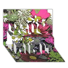 Amazing Garden Flowers 21 You Did It 3d Greeting Card (7x5)