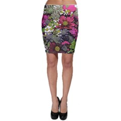 Amazing Garden Flowers 21 Bodycon Skirts