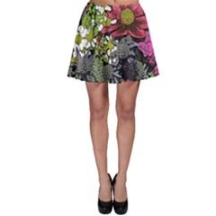 Amazing Garden Flowers 21 Skater Skirts