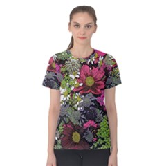 Amazing Garden Flowers 21 Women s Cotton Tees