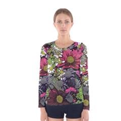 Amazing Garden Flowers 21 Women s Long Sleeve T-shirts