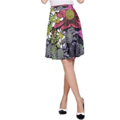 Amazing Garden Flowers 21 A Line Skirts