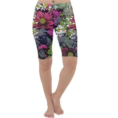 Amazing Garden Flowers 21 Cropped Leggings