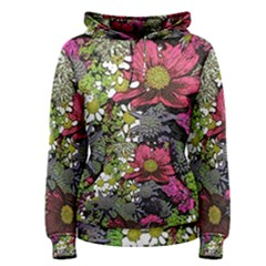 Amazing Garden Flowers 21 Women s Pullover Hoodies