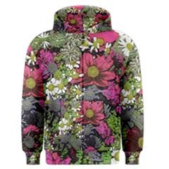 Amazing Garden Flowers 21 Men s Zipper Hoodies