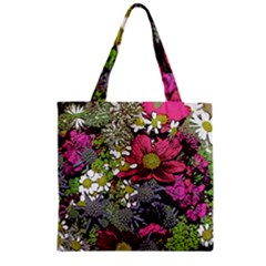 Amazing Garden Flowers 21 Zipper Grocery Tote Bags