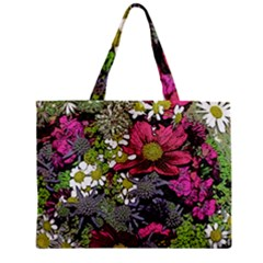 Amazing Garden Flowers 21 Zipper Tiny Tote Bags