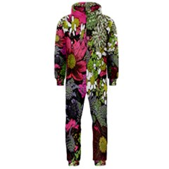 Amazing Garden Flowers 21 Hooded Jumpsuit (Men)