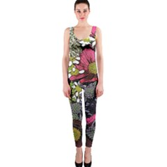Amazing Garden Flowers 21 OnePiece Catsuits