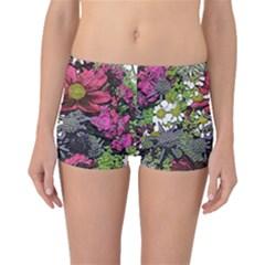 Amazing Garden Flowers 21 Boyleg Bikini Bottoms