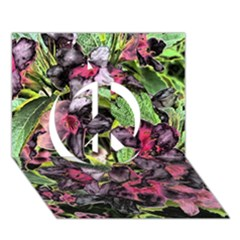 Amazing Garden Flowers 33 Peace Sign 3d Greeting Card (7x5)