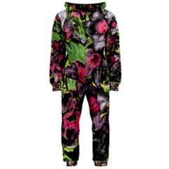 Amazing Garden Flowers 33 Hooded Jumpsuit (Ladies)