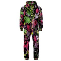 Amazing Garden Flowers 33 Hooded Jumpsuit (Men)
