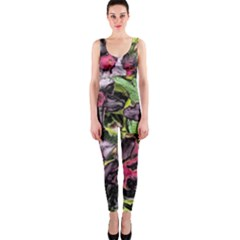 Amazing Garden Flowers 33 OnePiece Catsuits