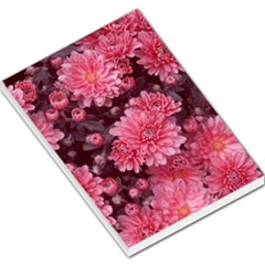 Awesome Flowers Red Large Memo Pads