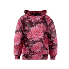 Awesome Flowers Red Kid s Pullover Hoodies