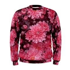 Awesome Flowers Red Men s Sweatshirts