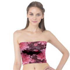 Awesome Flowers Red Women s Tube Tops