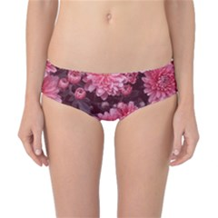 Awesome Flowers Red Classic Bikini Bottoms