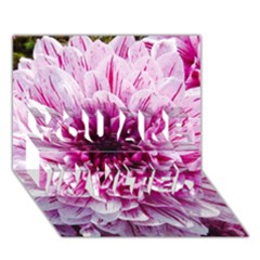 Wonderful Flowers You Are Invited 3d Greeting Card (7x5)