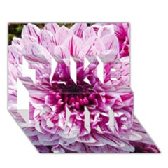 Wonderful Flowers Take Care 3d Greeting Card (7x5)
