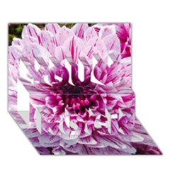 Wonderful Flowers You Rock 3D Greeting Card (7x5)