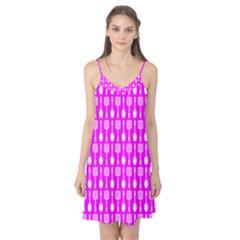 Purple Spatula Spoon Pattern Camis Nightgown
