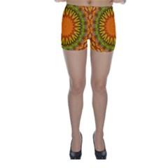 Kaleido Fun 07 Skinny Shorts