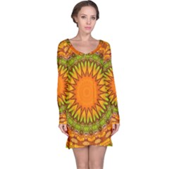 Kaleido Fun 07 Long Sleeve Nightdresses