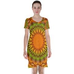 Kaleido Fun 07 Short Sleeve Nightdresses