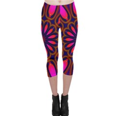 Kaleido Fun 06 Capri Leggings