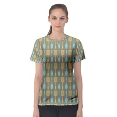 Spatula Spoon Pattern Women s Sport Mesh Tees