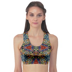 Magnificent Kaleido Design Sports Bra