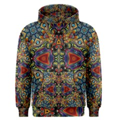 Magnificent Kaleido Design Men s Pullover Hoodies