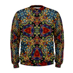 Magnificent Kaleido Design Men s Sweatshirts