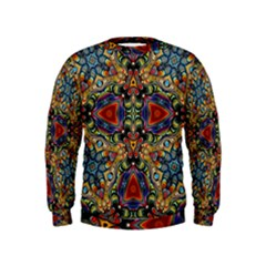 Magnificent Kaleido Design Boys  Sweatshirts