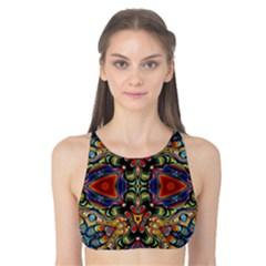 Magnificent Kaleido Design Tank Bikini Top